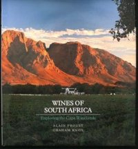 D. Wine Book - Wines of South Africa