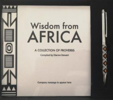 1A. SA Small Travel Gift Box - Wisdom from Africa 1.