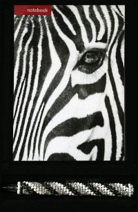 1A. SA Small Travel Gift Box - Zebra Notebook with Ndebele pen