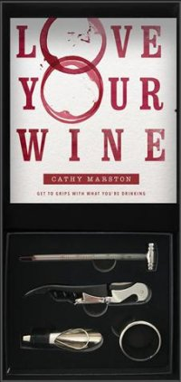 D. Wine Gift Box 2.- Wine Book with wine accessories